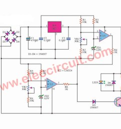 over under voltage protection circuit eleccircuit com window detector circuit diagram for under over voltage detection [ 1200 x 722 Pixel ]