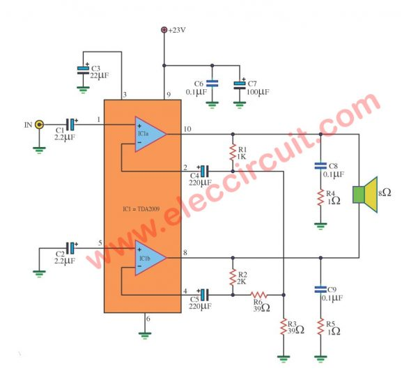Ic Amplifier Circuit