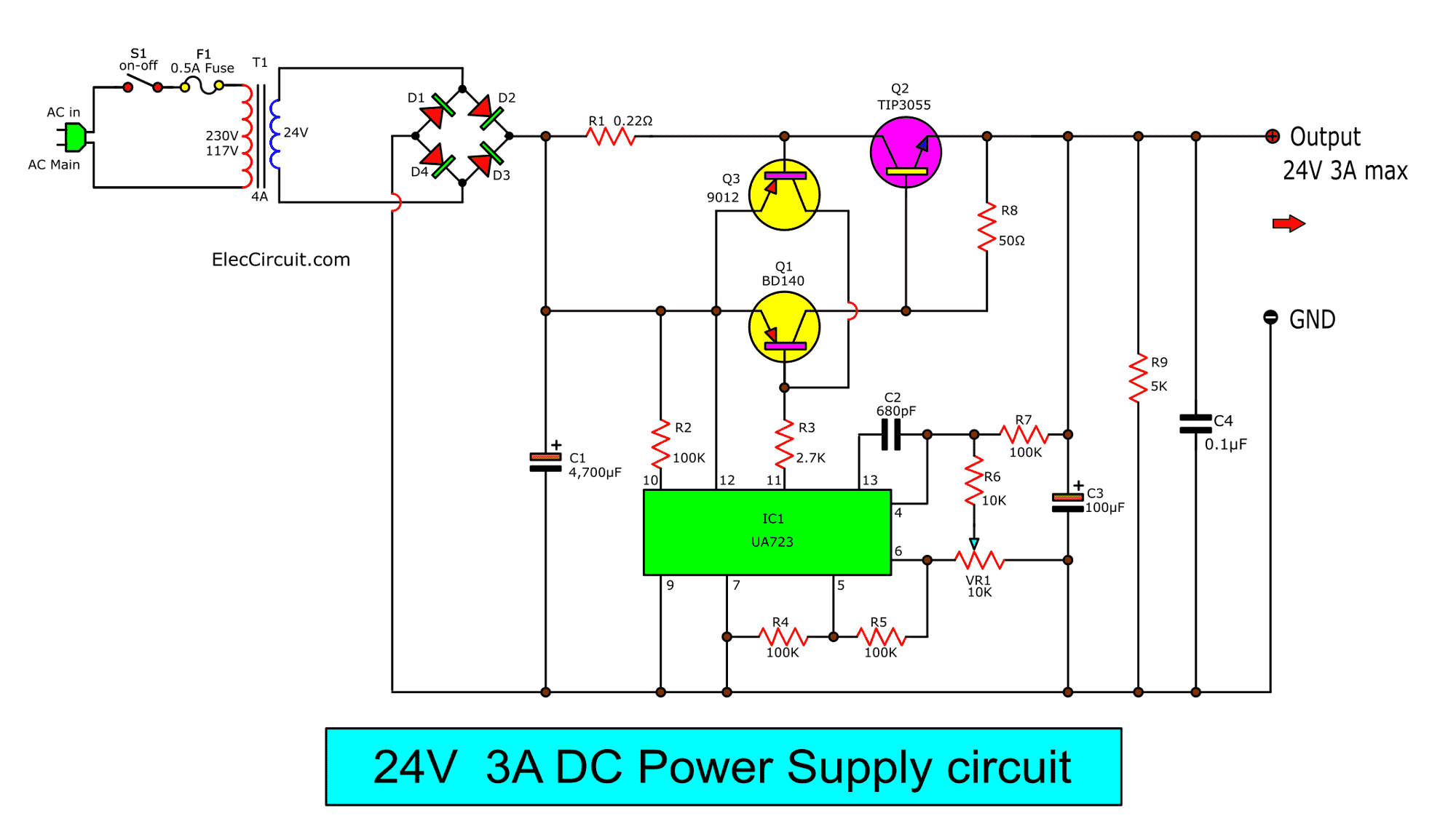 hight resolution of some have a load circuit that requires a 24v 3a regulator we have many ways to do it but this circuit below you may like it