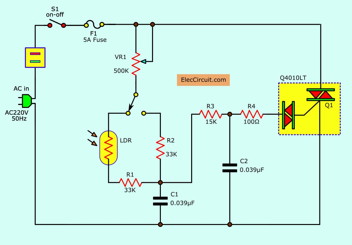 hight resolution of ac lights dimmer with triaccircuit diagram world wiring diagram view dimmer circuit using scr triac eleccircuit
