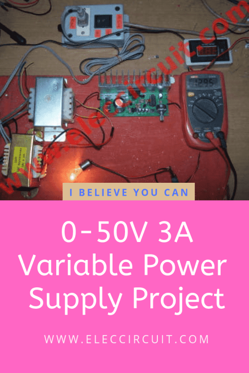 small resolution of variable power supply 0 50v 3a