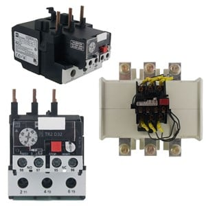 hight resolution of  definite purpose contactors auxiliary contacts overload relays