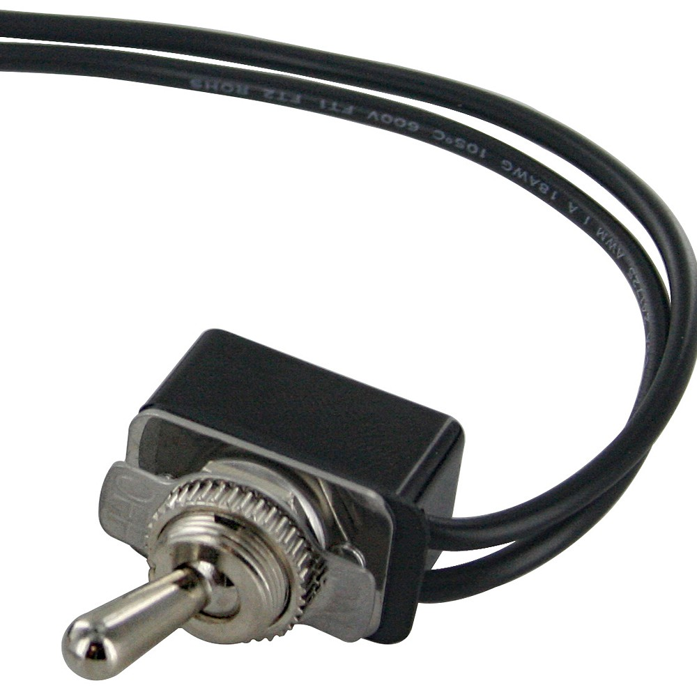 Spst Toggle Switch With Two 6 Inch Wire Leads On Off
