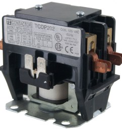 2 pole contactor 20 amp 240vac coil elecdirect 220 volt 2 pole contactor wiring [ 2132 x 2132 Pixel ]