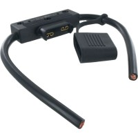 """In Line Maxi Blade Fuse Holder 6GA 6"""" Leads 