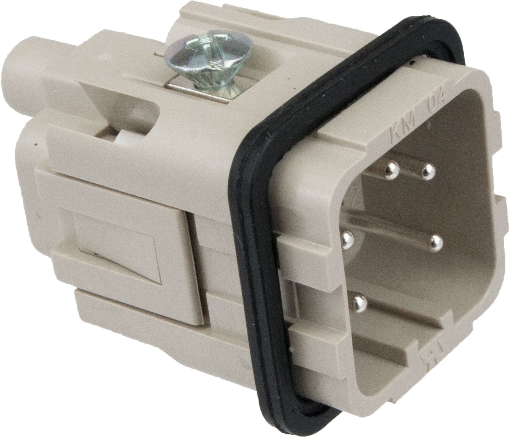 hight resolution of more views 4 pole rectangular connector