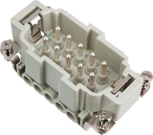 small resolution of more views 10 pole rectangular connector