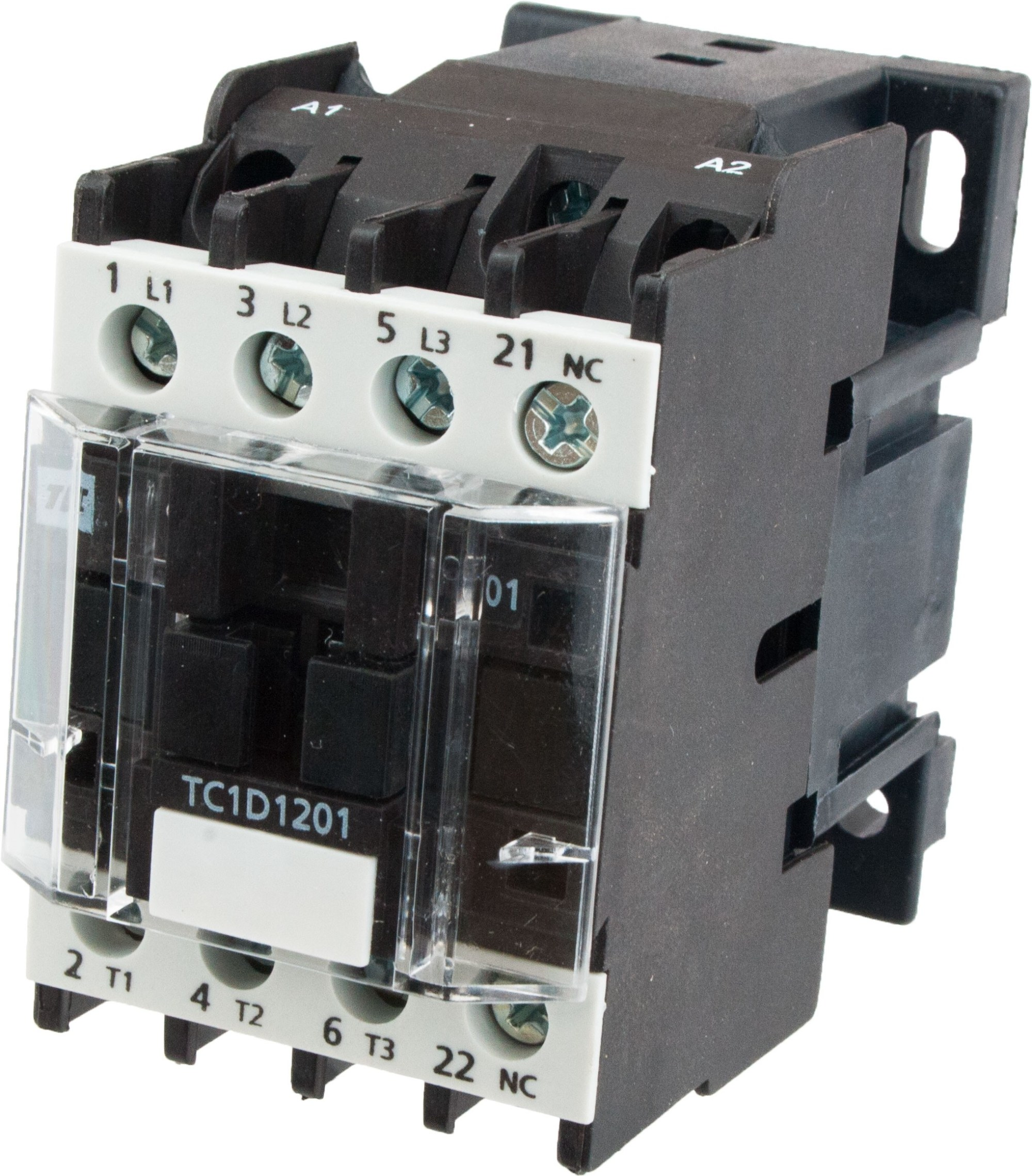 hight resolution of 3 pole contactor 12 amp 220 vac coil tc1d1201m7