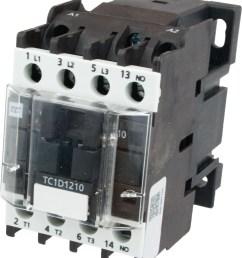 3 pole contactor 12 amp 1 n o 208 vac coil tc1d1210l6 elecdirect [ 2007 x 2361 Pixel ]