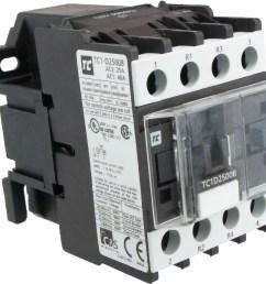 4 pole contactor 25 amp 2 n o 2 n c 120 volt [ 2443 x 2320 Pixel ]