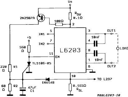 l6203应用电路-电子电路图,电子技术资料网站
