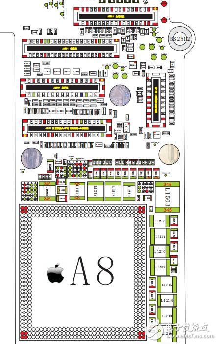 iPhone6全套阻值圖-電子電路圖,電子技術資料網站