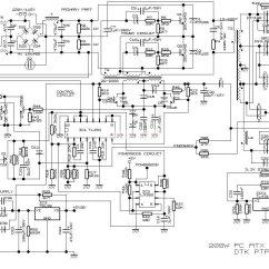Atx 450w Smps Circuit Diagram Basic Virus 电脑电源电路原理图 电源电路图 电子发烧友网