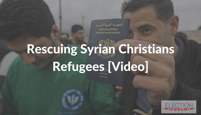 Rescuing Syrian Christians Refugees [Video]