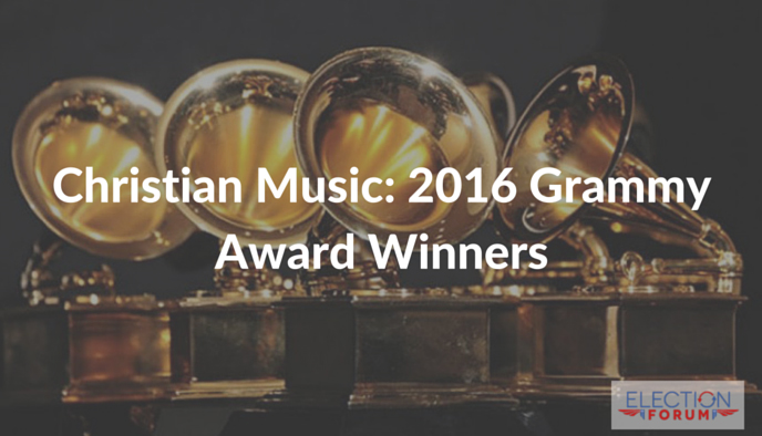 Christian Music: 2016 Grammy Award Winners