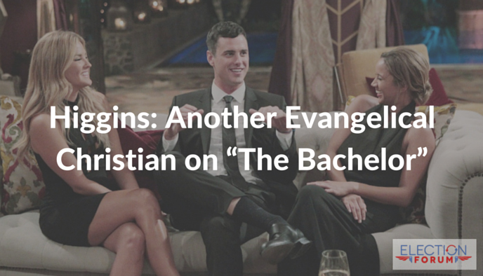 """Higgins: Another Evangelical Christian on """"The Bachelor"""""""