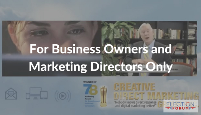 For Business Owners and Marketing Directors Only