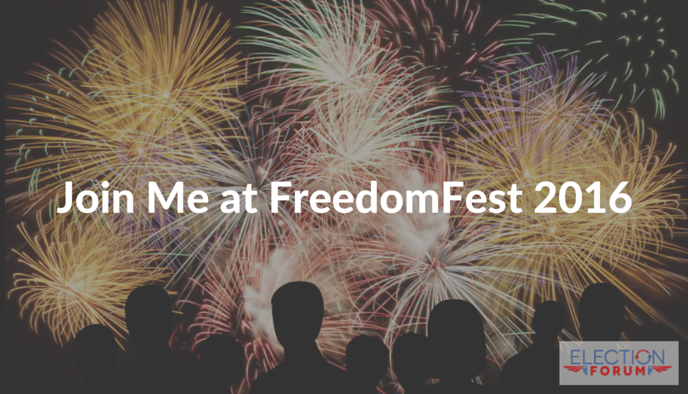 Join Me at FreedomFest 2016