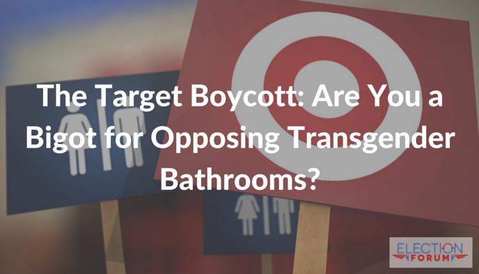The Target Boycott: Are You a Bigot for Opposing Transgender Bathrooms?