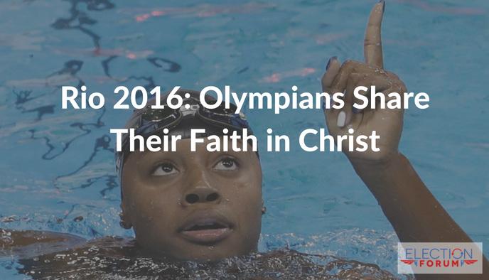 Rio 2016: Olympians Share Their Faith in Christ