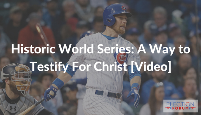 Historic World Series: A Way to Testify For Christ [Video]
