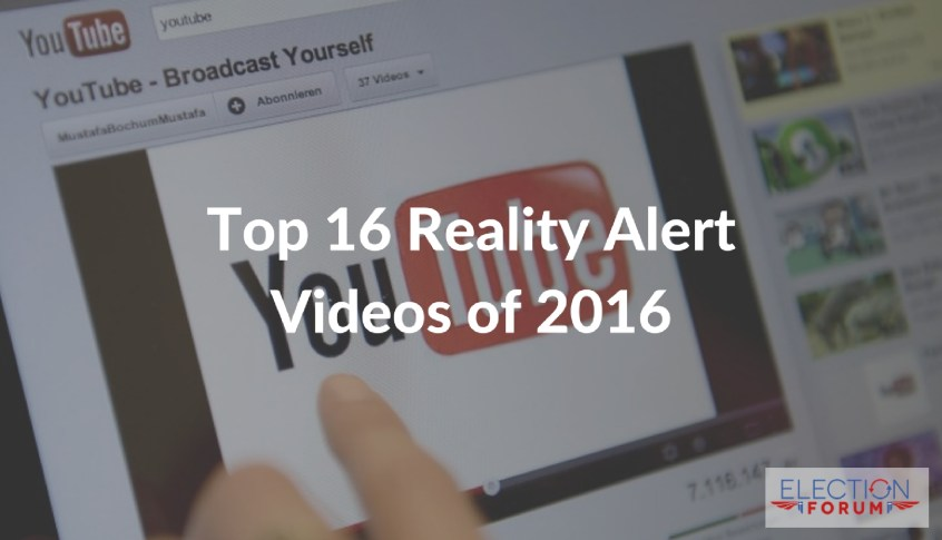 Top 16 Reality Alert Videos of 2016