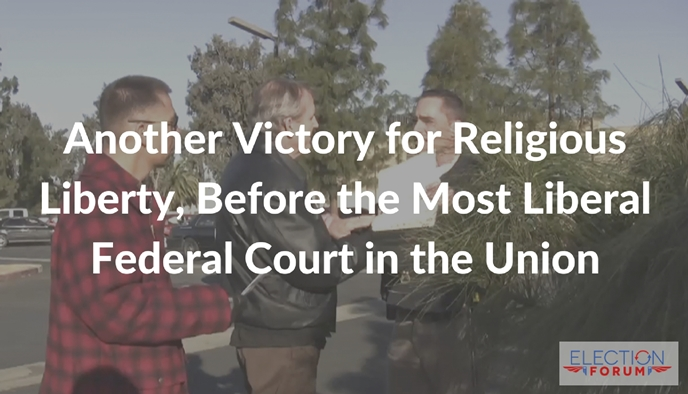 Another Victory for Religious Liberty, Before the Most Liberal Federal Court in the Union