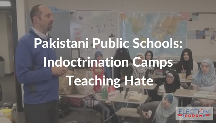 Pakistani Public Schools: Indoctrination Camps Teaching Hate