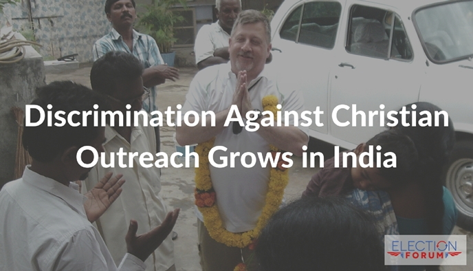 Discrimination Against Christian Outreach Grows in India