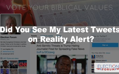 Did You See My Latest Tweets on Reality Alert?