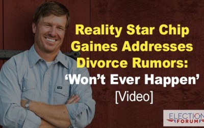 Reality Star Chip Gaines Addresses Divorce Rumors: 'Won't Ever Happen' [Video]