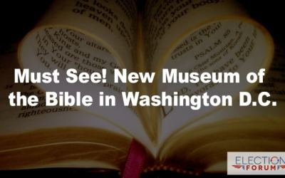 Must See! New Museum of the Bible in Washington D.C.