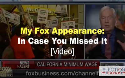 My Fox Appearance: In Case You Missed It [Video]