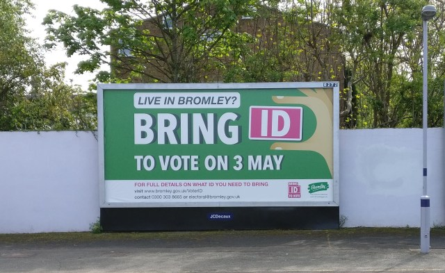 Position on the 2019 Voter ID Pilots – Electoral Reform Society