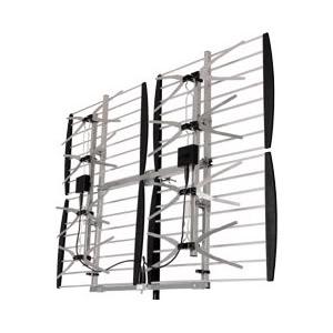 MULTI-DIRECTIONAL VHF UHF OUTDOOR HDTV HD TV ANTENNA 8 BAY