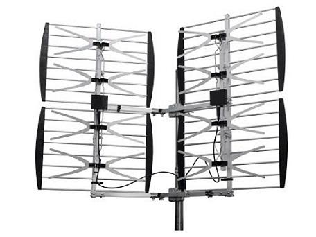 8 BAY HDTV UHF LONG RANGE ULTRA CLEAR DTV HD TV ANTENNA