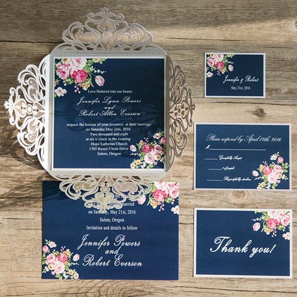 5 Elegant Wedding Invitations Electra Cruises