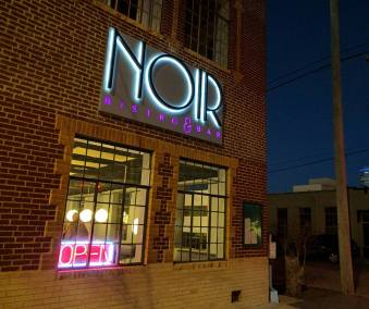 Noir Bistro and Bar Wall Sign