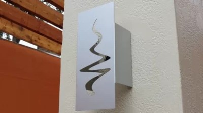 Logo Light Sconce