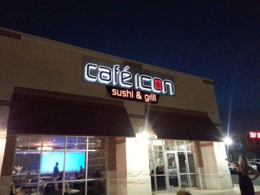 Cafe Icon Wall Sign