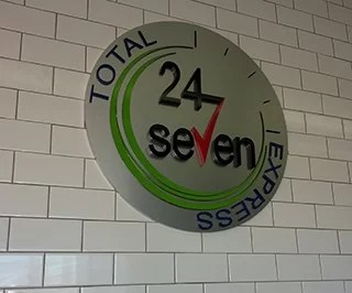 Interior Logo Sign