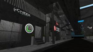 Screenshot of Virtual sign gallery.