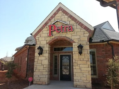 Petra Roofing Wall Sign