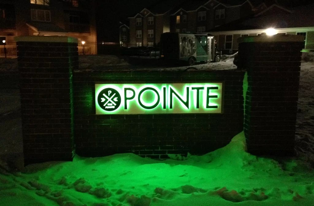 More Marquee Signs for The Pointe