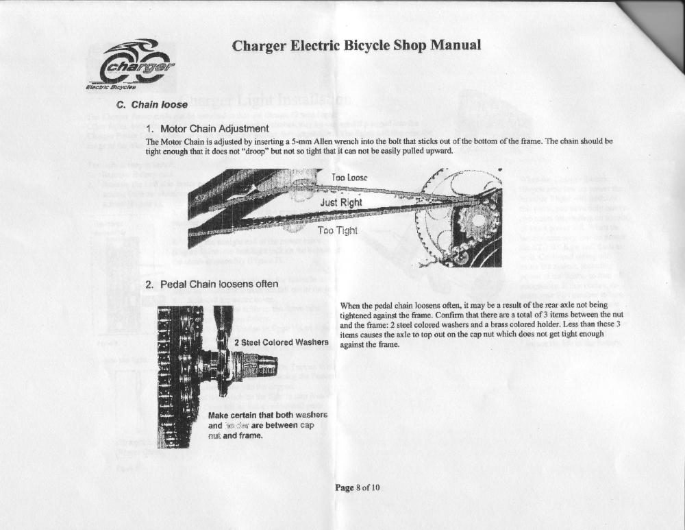 medium resolution of  wiring diagram for battery replacement torque sensor replacement motor chain adjustment