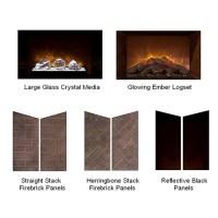 "60"" Home Fire Custom Electric FIreplace - Modern Flames"