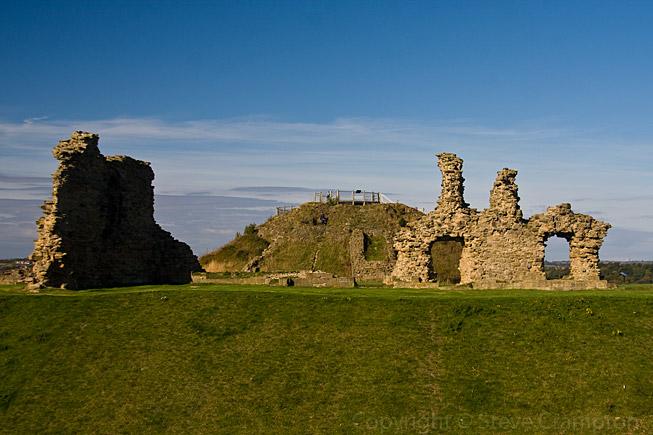 Sandal Castle West Yorkshire  photography by Steve Crampton