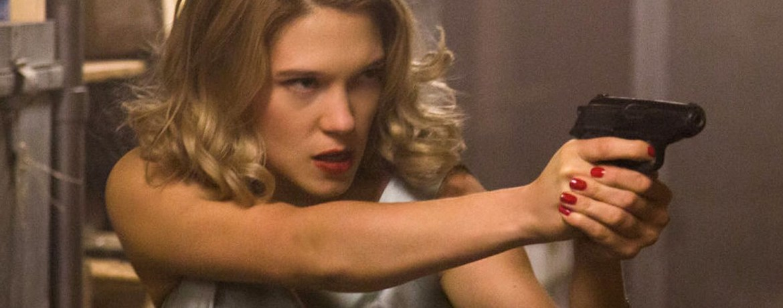 Spectre Lea Seydoux gun - Ritratto del James Bond di Daniel Craig