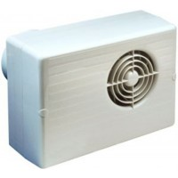 Manrose Centrifugal Standard Bathroom Extractor Fan 200mm Electric Vault Ltd