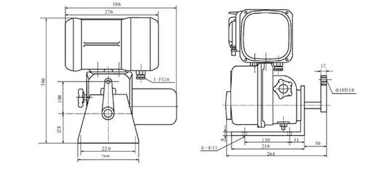 China Industrial Actuator 380v For Bernard Manufacturers
